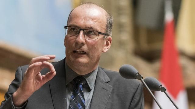 Markus Ritter spricht im Nationalrat