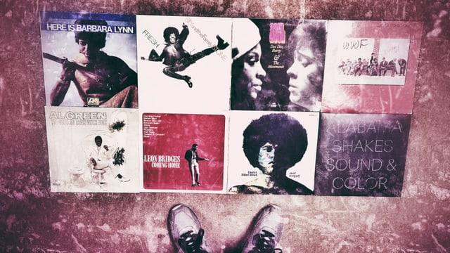 Schallplattencovers