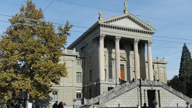 Das Winterthurer Stadthaus: Hinter diesen Mauern brütet die Regierung das grösste Sparprogramm der Winterthurer Geschichte aus.