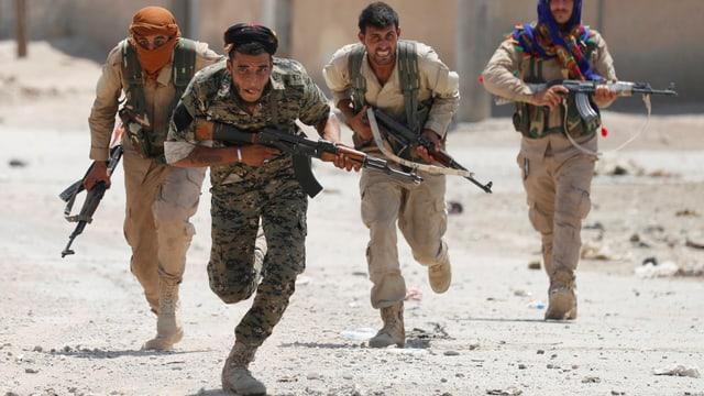 Kämpfer der YPG in Syrien