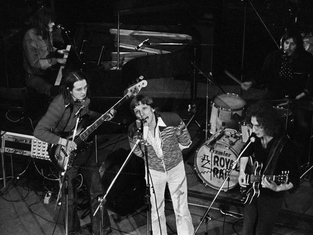 Polo Hofer Konzert im Jahr 1975.