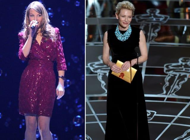 Anna Rossinelli und Cate Blanchett