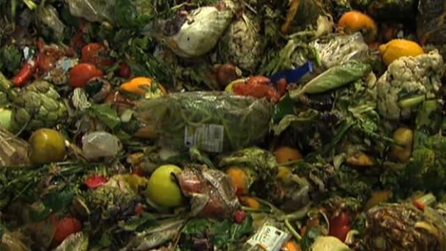 Weggeworfenes Gemüse