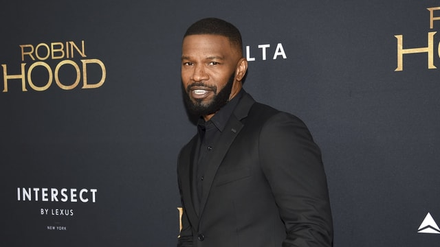 The picture shows Jamie Foxx.