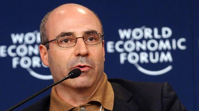 Ein Porträtbild von Bill Browder am WEF im Jahr 2005.