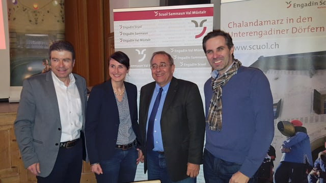 Da sanester Urs Wohler, Martina Stadler la nova directura, Roland Huber e Martin Niedergger