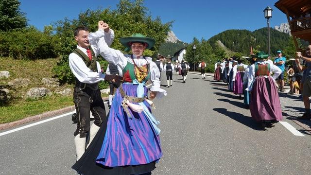 Il saut è fitg popular en Gherdeina.