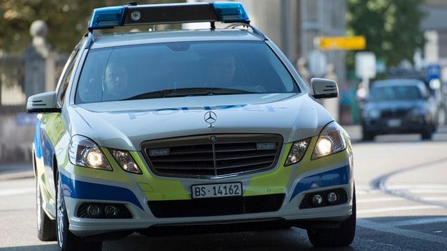 Ein Basler Polizeiauto