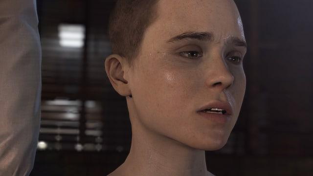 Portraitaufnahme von Jodie Holmes, gespielt von Ellen Page.