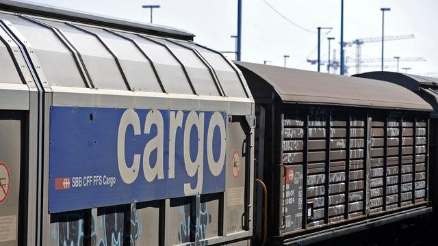 SBB Cargo logo.