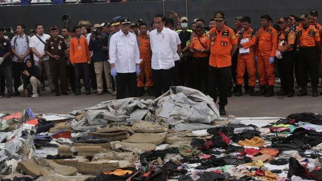 il retg da l'Indonesa stat avant las restanzas da la disgrazia da sgol