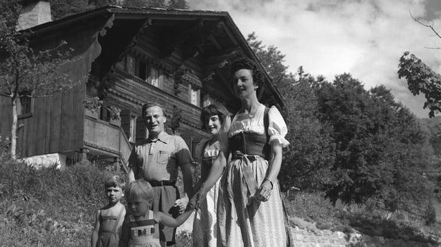 Portrait der Familie