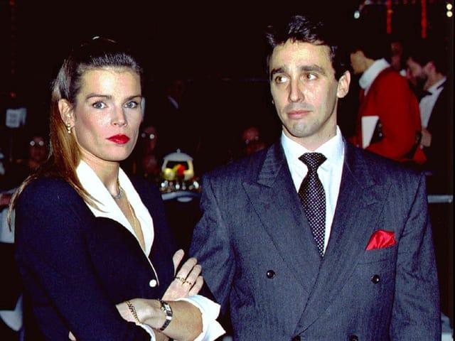 Prinzessin Stéphanie von Monaco und Daniel Ducruet
