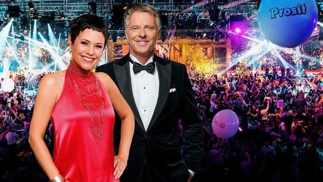 Francine Jordi und Jörg Pilawa präsentieren die «Silvestershow»