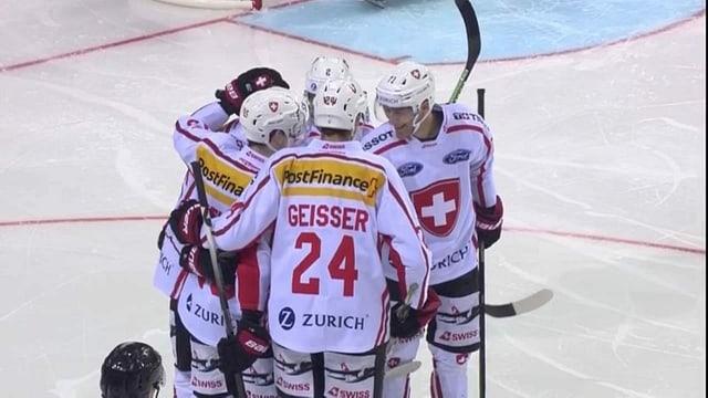 Eishockey-Nati auch bei Hauptprobe siegreich