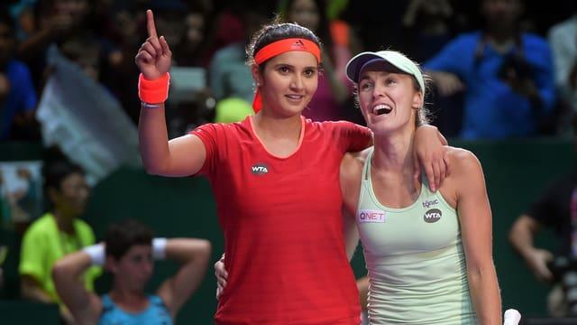 Mirza und Hingis eilen von Turniersieg zu Turniersieg.