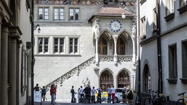 Das Rathaus Bern - auch hier wurde über Millionen diskutiert