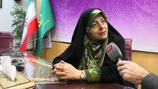 Vizepräsidentin Ebtekar: «Wir werden erfolgreich sein»
