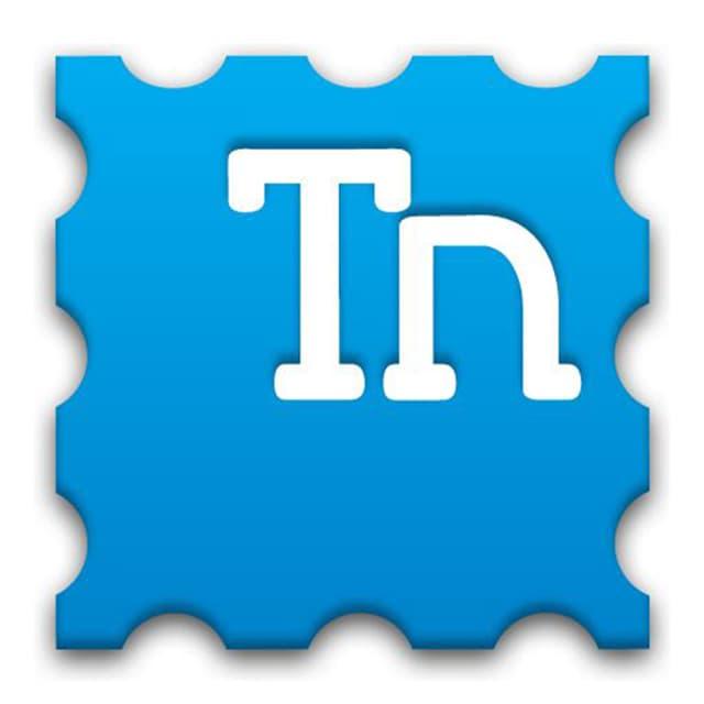 Icon von der App Touchnote