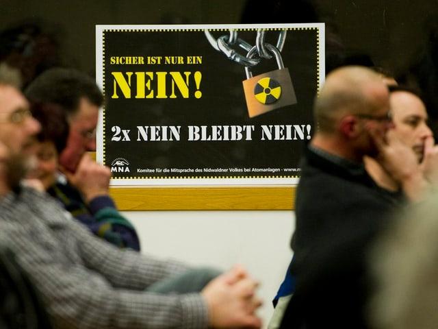 Seit den 1980er Jahren wehren sich die Nidwaldner gegen ein mögliches Tiefenlagers am Wellenberg.