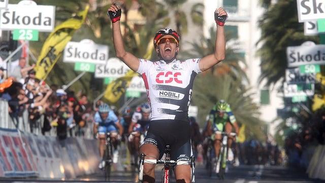 Fabian Cancellara gewinnt Mailand - Sanremo.