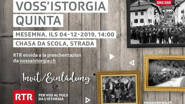 """charta d'invid """"Voss'istorgia quinta"""""""
