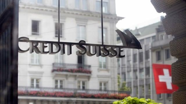 Purtret dal logo da Credit Suisse.