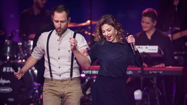 Video «Ich schänke dir es Lied – Liveshow 3» abspielen