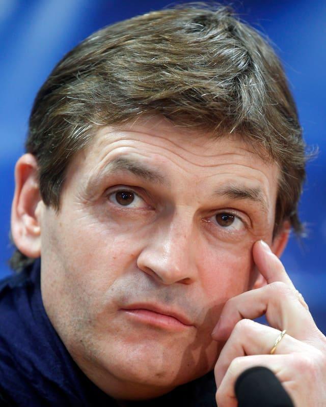 Barça-Trainer Tito Vilanova: «Wir müssen zeigen, dass wir es mit Bayern aufnehmen und die Münchner schlagen können.»