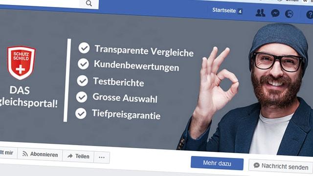 Screenshot von Facebook