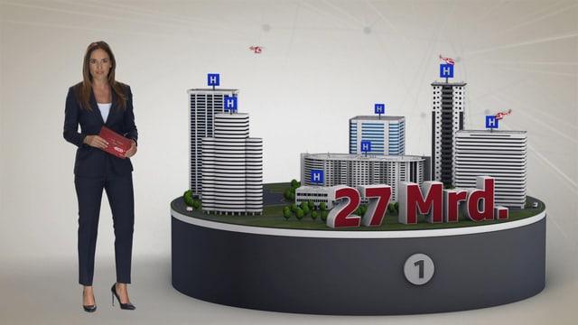 Video «Spitalwesen steuert auf finanziellen Infarkt zu» abspielen
