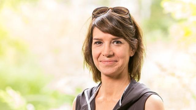 Porträt von SRF-Redaktorin Annelis Berger