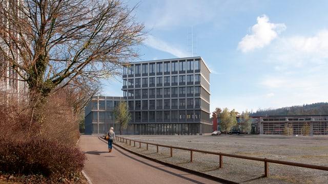 Neues Polizeigebäude