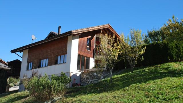 Ein Einfamilienhaus im Grünen