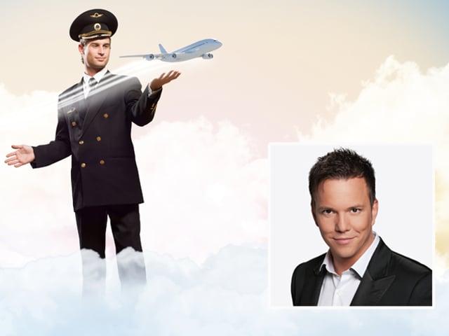 Sven Epiney und Pilot.