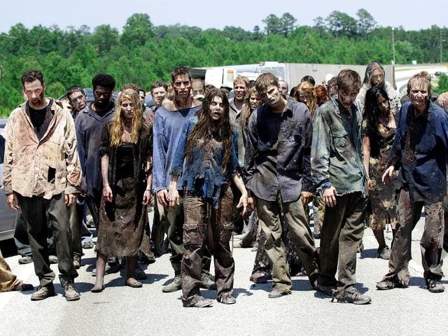Die erfolgreiche Zombie-TV-Serie «The Walking Dead» basiert auf der gleichnamigen Comicbuchreihe von Robert Kirkman.