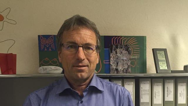 Hanspeter Lötscher, il schef da l'Uffizi per ambient e natira.