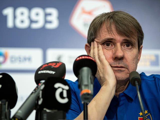 FCB-Präsident Bernhard Burgener.