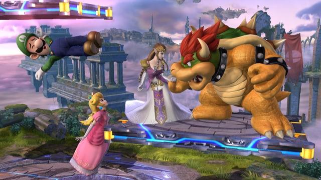 Ich finde nicht, dass ich Luigi, Peach, Zelda oder Bowser beschreiben muss. Sie wissen, wie die aussehen.