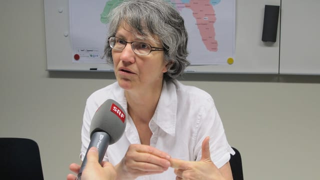 Barbara Cavelti, Leiterin Integration im Amt für Migration, erklärt gegenüber Radio SRF das neue Integrationsprogramm.