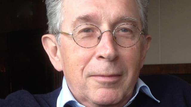 Nahaufnahme Politikwissenschaftler Dieter Ruloff
