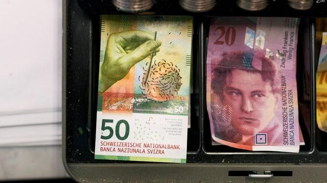 Geld in Kasse