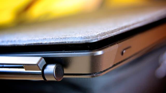 Nahaufnahme des Surface Pro mit Stift