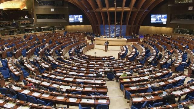 Blick ins Parlament des Europarats