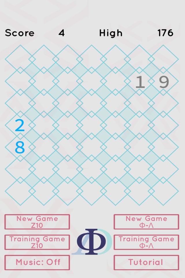 """Alle fünf Züge (siehe """"Score"""") kommen neue Zahlen dazu, oder bestehende Gruppen teilen und dehnen sich aus. Tipp: Je weiter eine Gruppe in eine Ecke gedrängt wird, desto weniger Möglichkeiten gibt es für sie sich auszudehnen."""