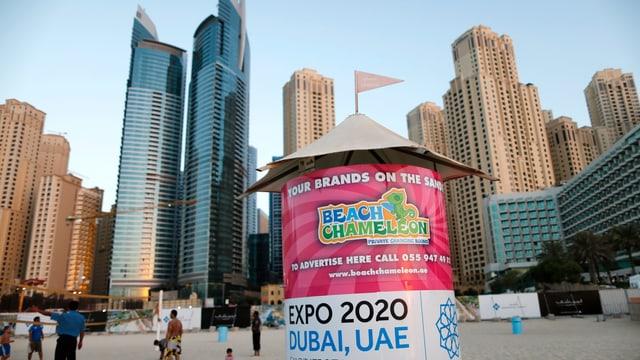 Expo-2020-Werbung in Dubai