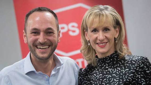Mathias Reynard e Priska Seiler Graf.