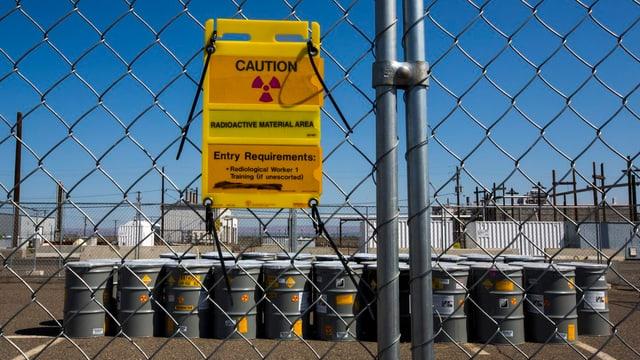 Nuklearkomplex in den USA