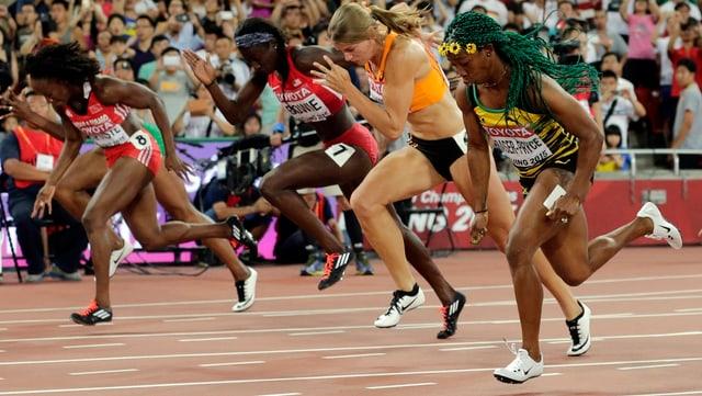 100 m Rennen Frauen