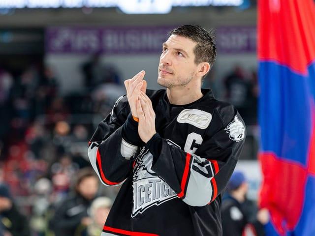 Patrick Reimer ist eine zentrale Figur bei den Nürnberg Ice Tigers.